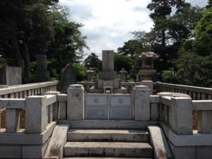 多磨霊園48㎡清掃後